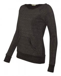 Alternative-Ladies'-Maniac-Sweatshirt-AA9582-Black