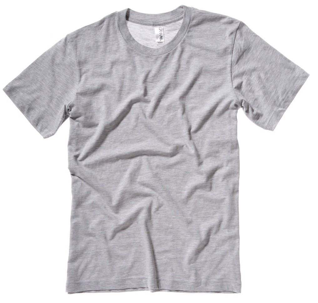Canvas T Shirt B3001 Screen Printing Embroidery And Custom T