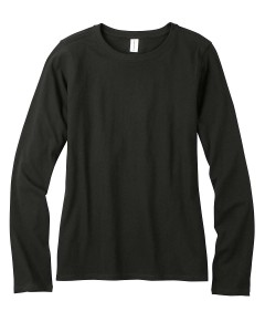 econscious_EC3500_Black_Womens_Organic_Cotton_Long_Sleeve_T-Shirt