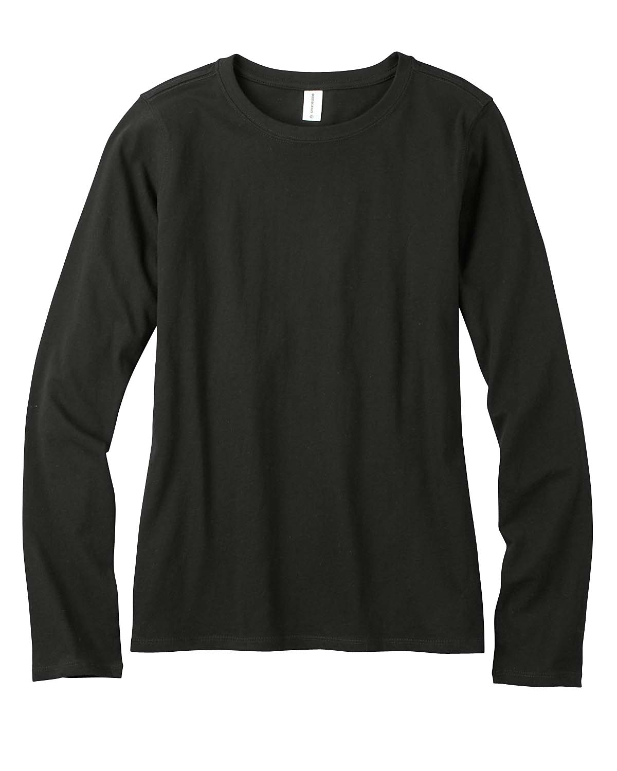 econscious_EC3500_Black_Womens_Organic_Cotton_Long_Sleeve_T-Shirt